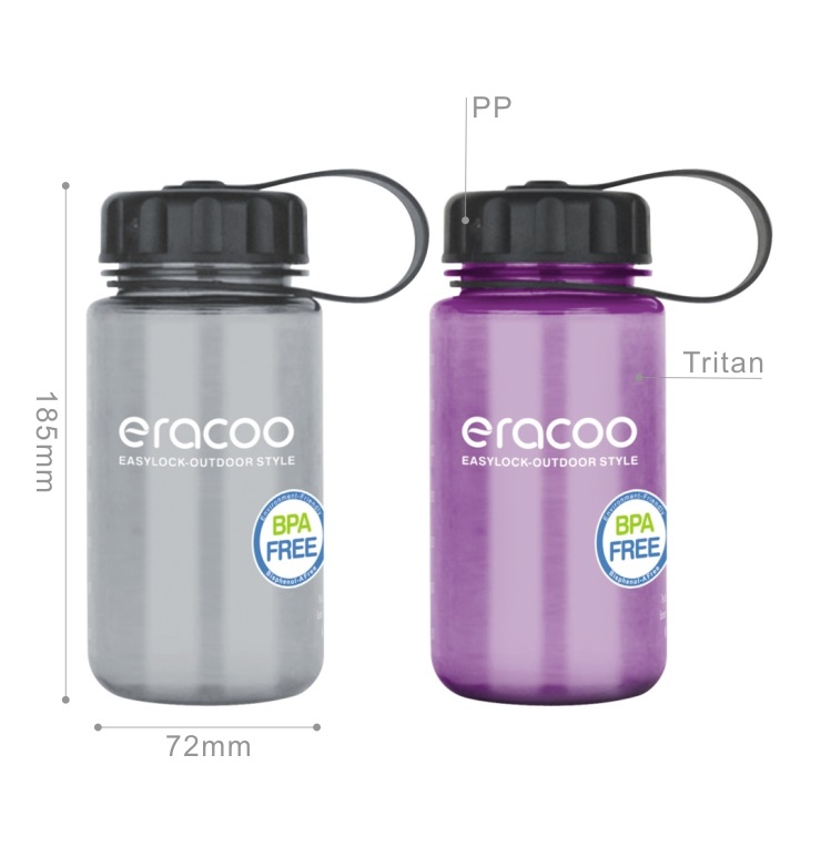 Features of Easylock Wide Mouth Custom BPA Free Eastman Tritan Plastic Kids Water Bottle