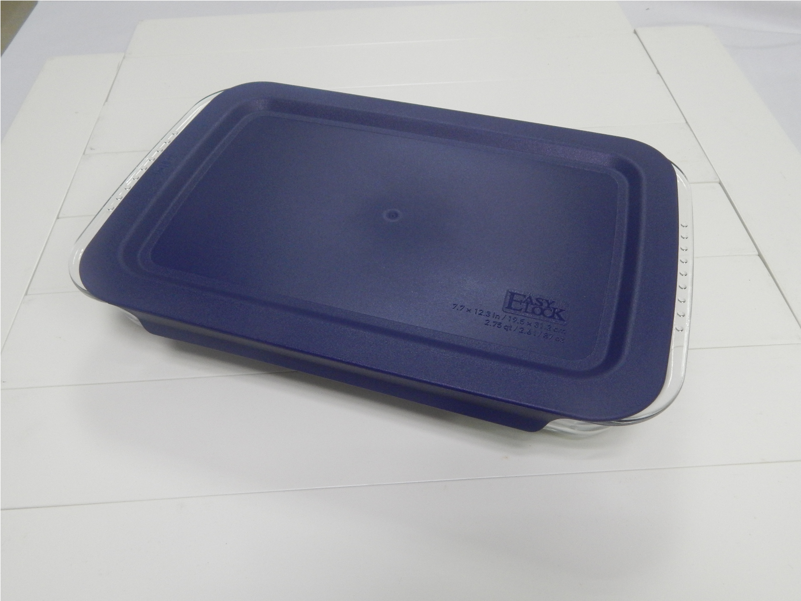 Glass Baking Casserole with Stackable Lid