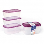 Large Reusable BPA Free PP Plastic Food Containers