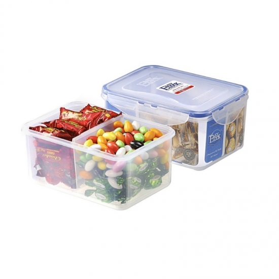 Microwavable Divided Food Storage Containers