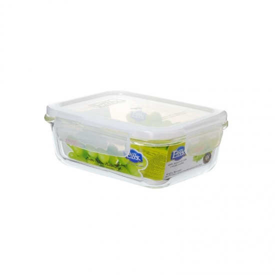 Oven Safe Rectangular Food Grade Glass Food Containers