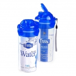 Plastic Sports Flip Top Reusable Water Bottles