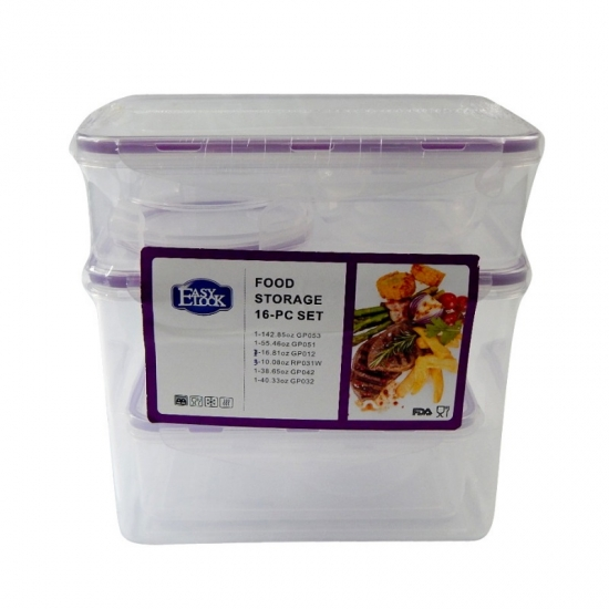 Easylock Stackable Airtight Food Containers