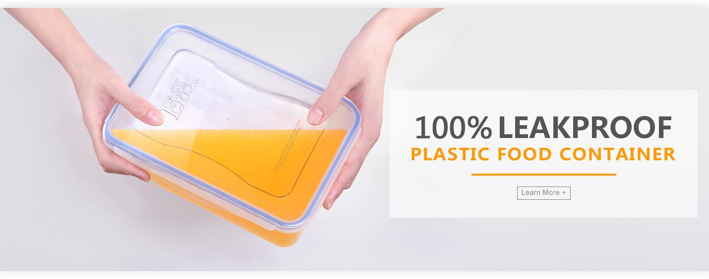 Easylock Plastic Food Container